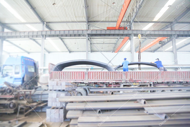 China Coal Group Send A Batch Of New U-Shaped Steel Supports To Qufu